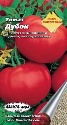 """Семена томата """"Дубок"""""""