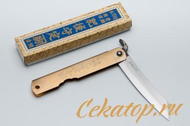 Традиционный складной нож Higonokami HKA-80YL