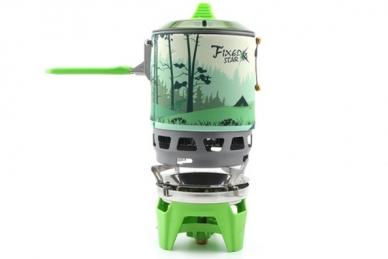 Туристическая газовая горелка TRG-049 (зеленая)