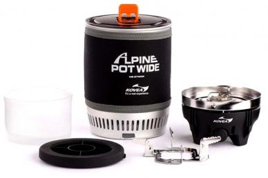 Туристическая горелка Kovea Alpine Pot Wide KB-0703W