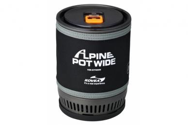 Туристическая газовая горелка Kovea Alpine Pot Wide KB-0703W
