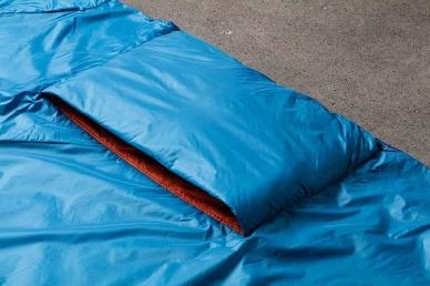 Туристическое одеяло Versa Klymit, секция для ног