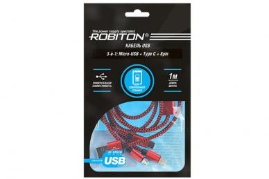Универсальный кабель USB P12 Multicord Robiton