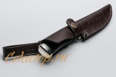 Нож Валькирия (сталь 440C) Лебежь, ножны