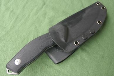 Нож Y-Start «Ф» черный