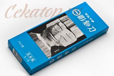 Резцы по дереву L-5 (5 предметов) Yoshiharu, упаковка