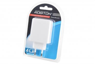 Компактная зарядная станция PowerBox6A Robiton
