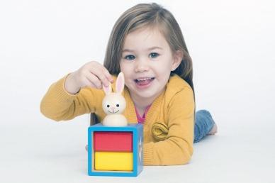 """Игра """"Застенчивый кролик"""" фото"""