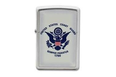 """Зажигалка 28517 """"Coast Guard"""" Zippo, США"""