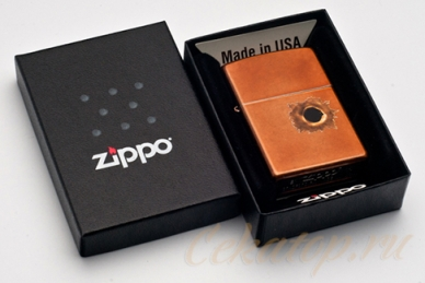 """Зажигалка Zippo 24717 """"Toffee Bullet Hole"""""""