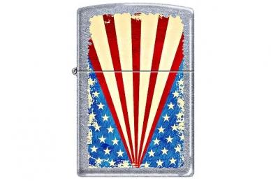 Зажигалка Zippo 207 Grunge Flag - производство США