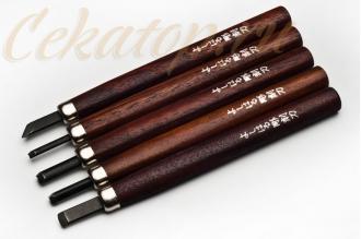 Резцы по дереву HP-5 (5 предметов) Yoshiharu
