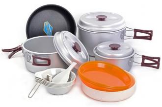 Набор посуды Silver 56 Kovea, Корея