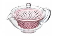 Ударопрочный заварочный чайник Akebono (pink) 0.28 л