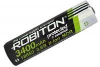Аккумулятор 18650 3400 мАч с защитой (NCR18650B) PK1