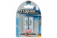 Аккумулятор 5030992 maxE AA 2100 mAh (2 шт.), Ansmann, Германия