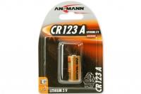 Элемент питания литиевый Special Lithium CR123A (3V) Ansmann, Германия