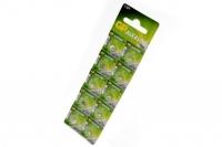 Батарейка часовая Alkaline cell 164-C10 AG1 BL10, GP Batteries