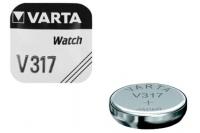 Батарейка серебряно-цинковая часовая 317, Varta