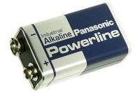 Батарейка Powerline Industrial 6LR61AD SR1, Panasonic, Япония