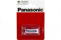 Батарейка Zinc Carbon 6F22RZ/1BP R6F22RZ BL1, Panasonic, Япония