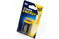 Батарейка крона Energy 4122 9V BL1, Varta, Германия