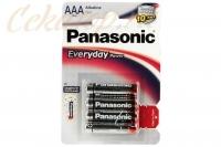 Элементы питания щелочные Everyday Power AAA (4 шт.) Panasonic, Япония
