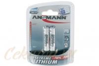 Элементы питания литиевые Extreme Lithium AAA (2 шт.) Ansmann