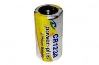 Батарейка Li-ion CR123A (3 В; 1550 мАч) Power-Plus