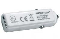 Блок питания автомобильный USB2100/Auto 2100мА, Robiton