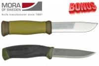 Бонус-пак: ножи Mora 2000 и Mora Companion MG Carbon