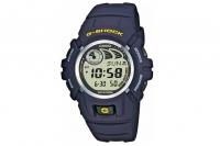 Часы наручные Casio G-Shock G-2900F-2V противоударные и водонепроницаемые, темно