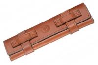Чехол кожаный Rolletui для опасной бритвы, Böker