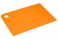 Доска разделочная 360х250х2 мм (оранжевая), Тайвань