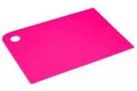 Доска разделочная 360х250х2 мм (розовая), Тайвань