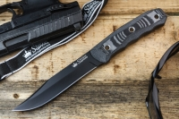 Нож Enzo (AUS-8, Black) Kizlyar Supreme, Россия
