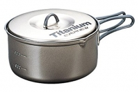 Титановая кастрюля 0,9 л Non-Stick ECA422 Evernew, Япония