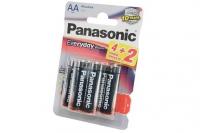 Элементы питания щелочные Everyday Power AA (6 шт.) Panasonic, Япония