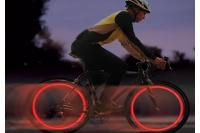 Фонарик светодиодный велосипедный на спицы SpokeLit (красный) Nite Ize