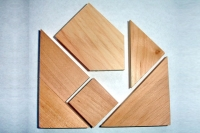 Головоломка Два квадрата