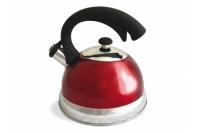 Чайник стальной (2.5 л, красный) Tima, Россия