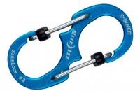 Алюминиевый двусторонний карабин S-Biner SlideLock #2 (blue) Nite Ize