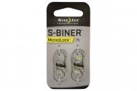 Двусторонние карабины S-Biner Microlock (stainless) Nite Ize