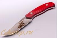 Нож «Касатка 2014 Прыжки на лыжах» (красный) Кизляр, Россия