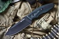 Нож Urban (AUS-8, Black) Kizlyar Supreme, Россия
