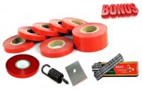 Ленты для тапенера Tapetool BZ-3 (10 шт.), комплект скоб и комплект запчастей