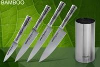 Набор (4 ножа и подставка) Bamboo Samura SBA-05