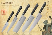 "Набор из 5 кухонных стальных ножей ""Samura Harakiri"" SHR-0250B"
