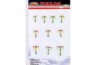 Набор тройников-мормышек N1 (из 10 шт.) от компании Lindroos, Финляндия