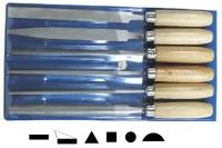Набор напильников 100 мм из 6 шт. Ajax, Чехия